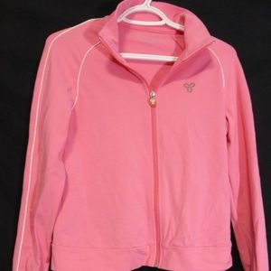 TNA Action, large, l, pink, zip up sport, exercise